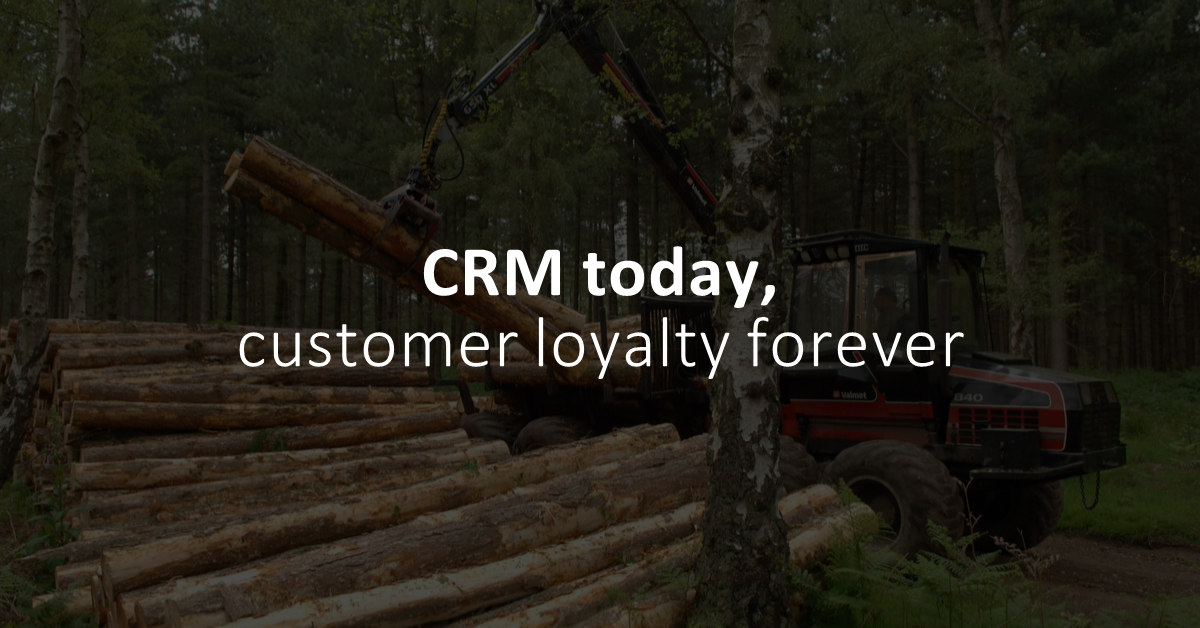 Best practices for CRM use in the logging industry