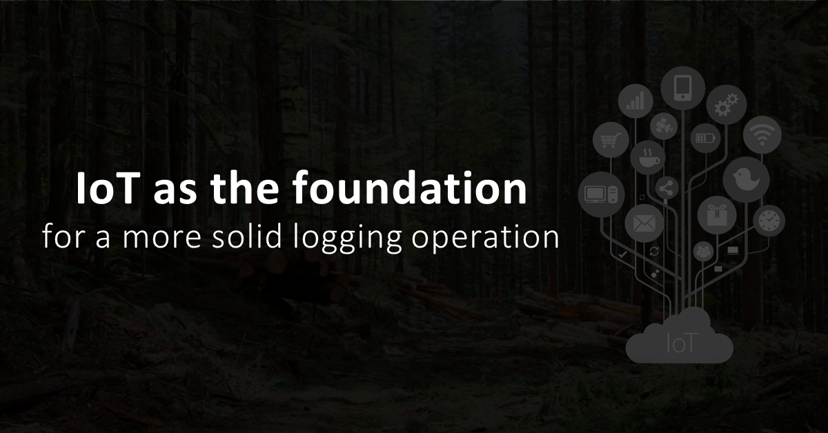 How the Internet of Things (IoT) can improve your logging business