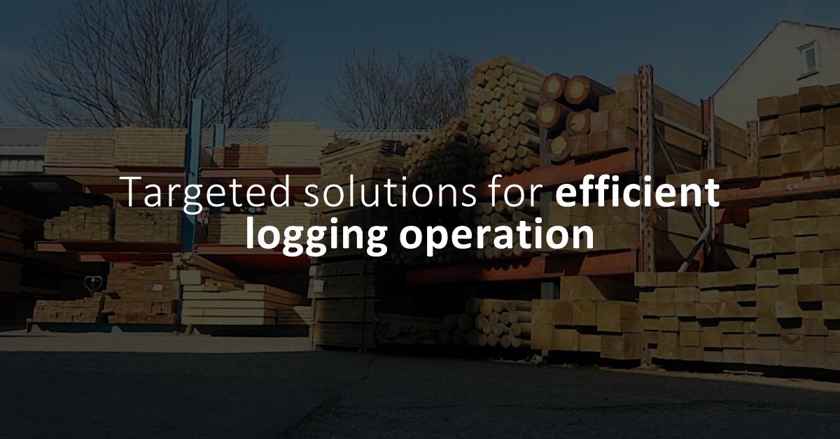 Targeted Solutions for more efficient logging