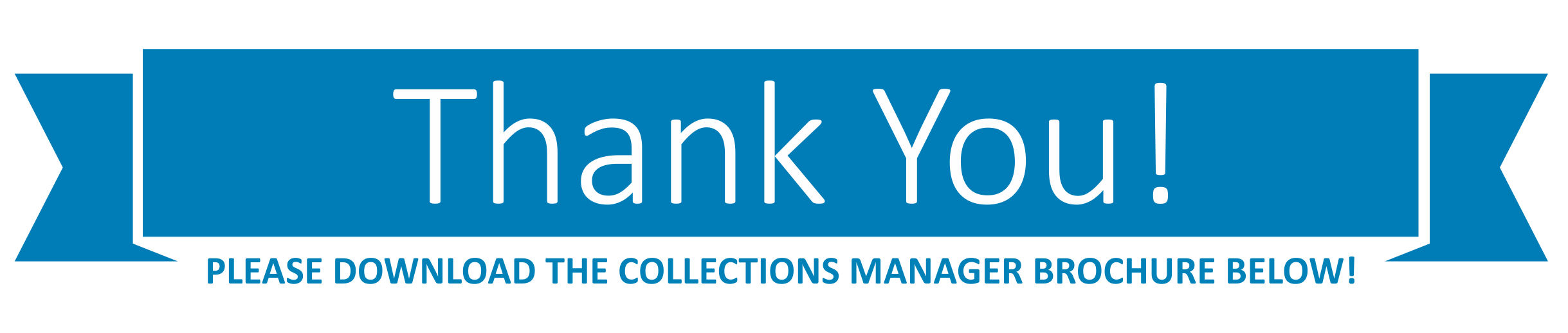 ThankYouCollectionsManagerBrochure