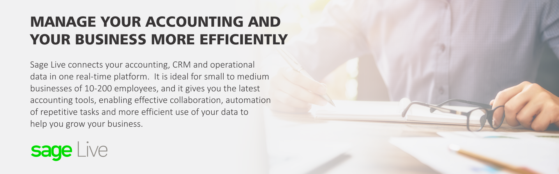 Manage your accounting and your business more efficiently